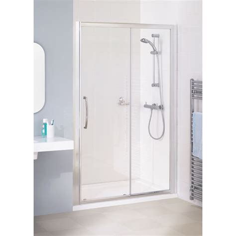 Reduced Height Shower Door Lakes Reduced Height 1000x1750 Semi Framed Slider Shower Door Silver Buy At Bathroom City