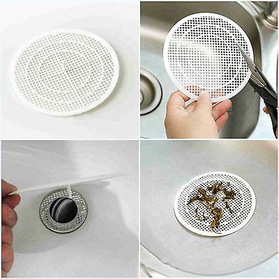 bathroom sink screen 1pcs plastic bathroom floor drain filter screen hair