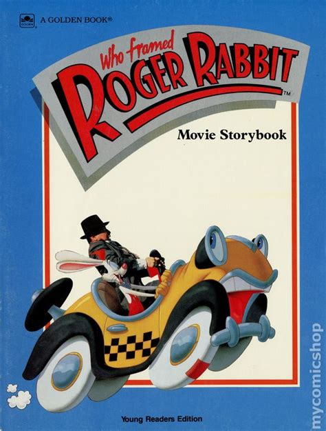 rabbit books who framed roger rabbit storybook read comic books