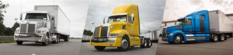 new western 5700xe truck aerodynamic powerful