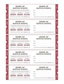 raffle tickets templates office com messiah ideas