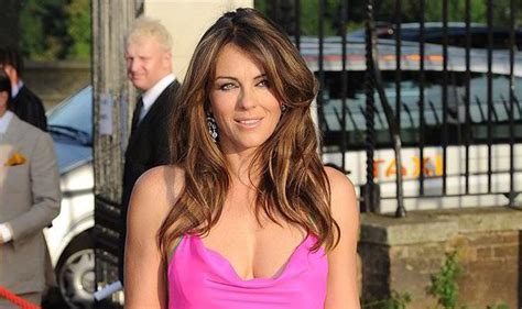 Drama In Liz Hurleys by Liz Hurley Set To Play The In New American Drama