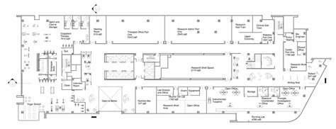 rehabilitation center floor plan spaulding rehabilitation center rebecca dandrea archinect