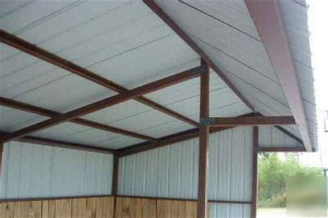 premium portable steel loafing shed