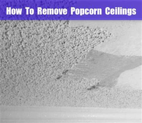 how to remove popcorn ceilings homestead survival