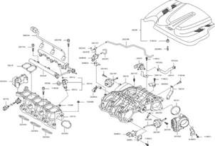 Parts For Kia Sorento Intake Manifold For 2011 Kia Sorento Kia Parts Now