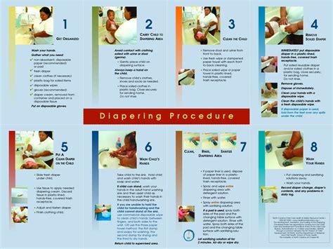 printable area change diaper changing procedures diapering procedure pdf