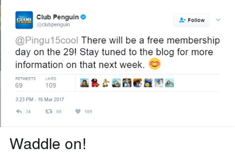 There Will Be No Blogging Until Next Week As I Am Snarkspot by Club Penguin Follow 15cool There Will Be A Free Membership