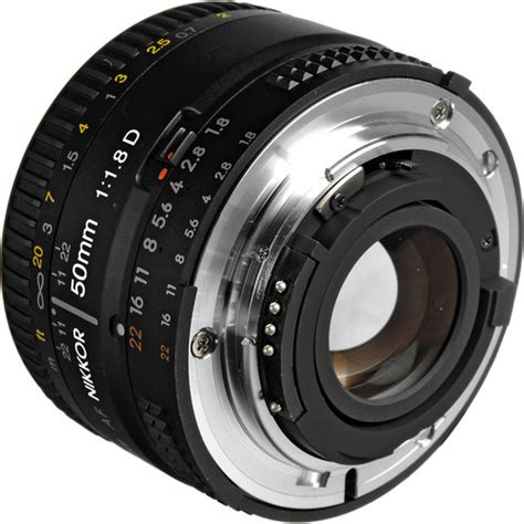 nikon af nikkor 50mm f 1 8d lens digital photography live