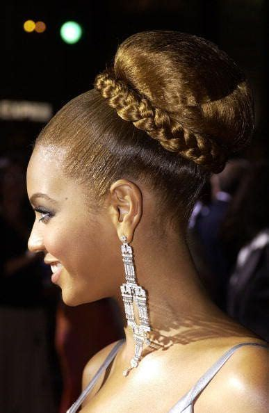 how to do the beyonce bun 34 best wedding hair by pearl images on pinterest