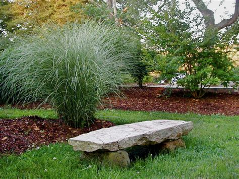 stone bench for garden photo page hgtv