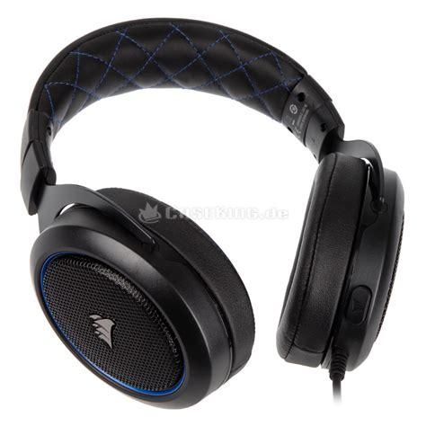 Headset Corsair Hs50 corsair hs50 gaming headset blau caseking de