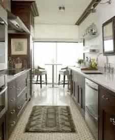 Ideas For Galley Kitchens by Gallery For Gt Traditional Galley Kitchen Designs