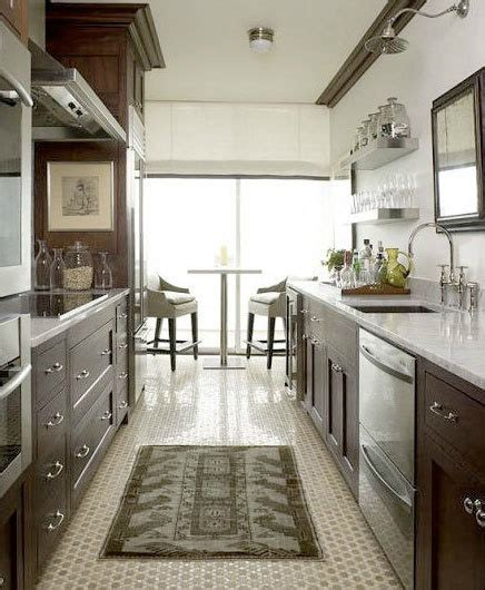 Galley Kitchen Layout Ideas by 47 Best Galley Kitchen Designs Decoholic