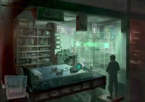 cyberpunk otaku place bedroom by dsorokin755 on deviantart