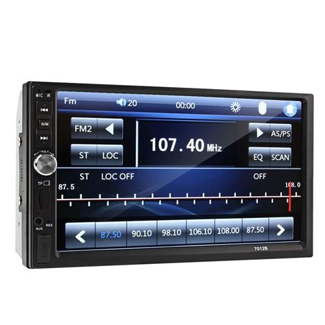 format audio mp5 car 7 touch screen mp5 player fm bluetooth radio audio