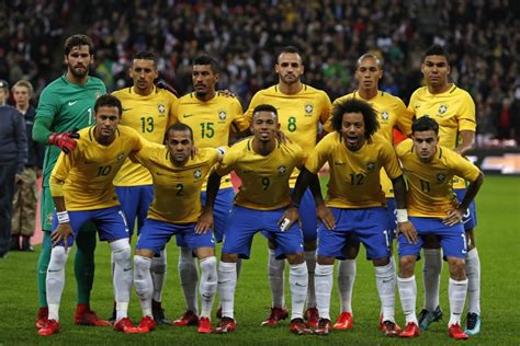 brasil de neymar est 225 pronto para copa do mundo r 250 ssia