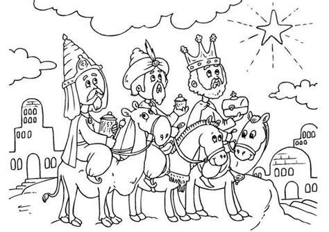 imagenes de navidad para colorear reyes magos dibujos para colorear de los reyes magos ella hoy