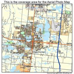 aerial photography map of loveland co colorado