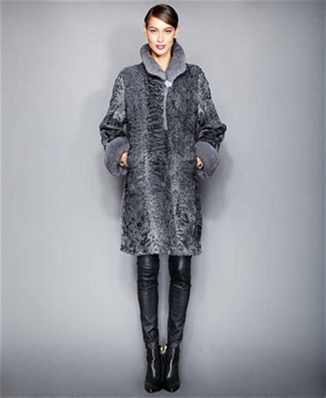 fur vault mink fur trimmed persian lamb coat reviews