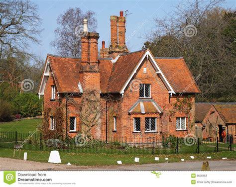 English Cottage Home Plans traditioanl english lodge house stock image image 8658153