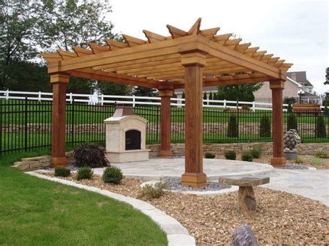Pergola With Fireplace by Photo 587 Pergola And Fireplace The Pergola The
