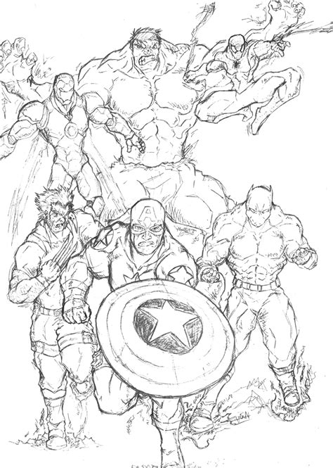 marvel coloring book marvel coloring pages coloring pages