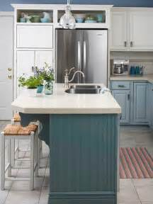 painted islands for kitchens bhg centsational style