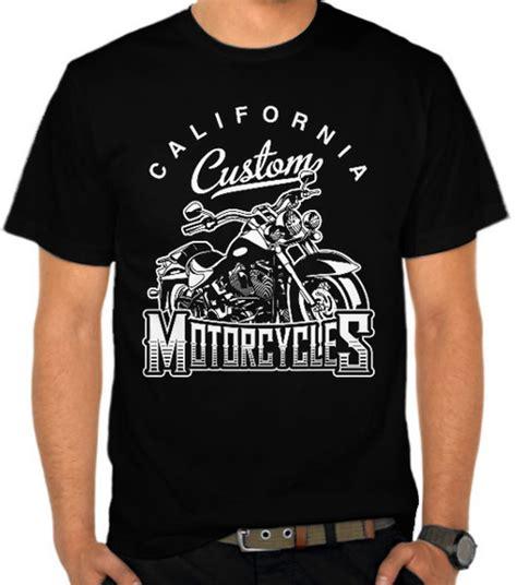 jual kaos california motor custom motor satubaju