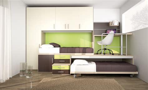 pedana letto cameretta con letti a e pedana con scrivania 55