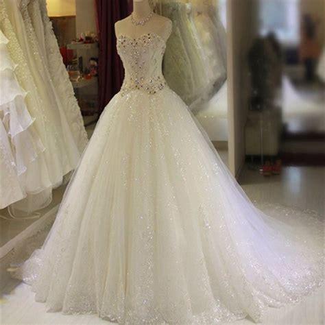 luxus brautkleider luxury gown sweatheart beaded chapel