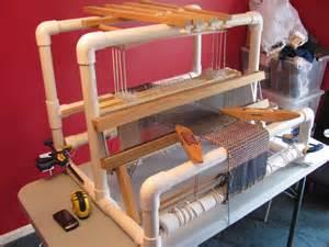 building the pvc loom pvc loom start weaving loom plans