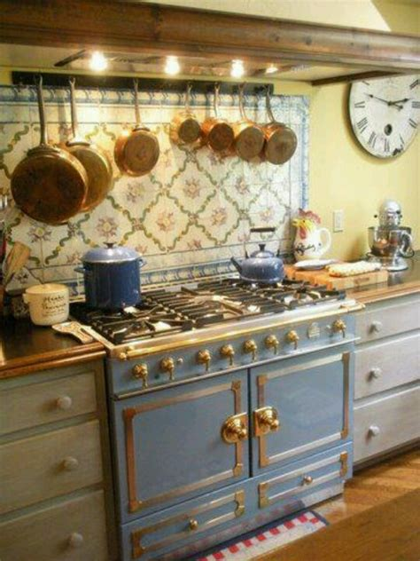 La Cornue Kitchen Designs by French Kitchen Love The Stove Amp Tiles French Country