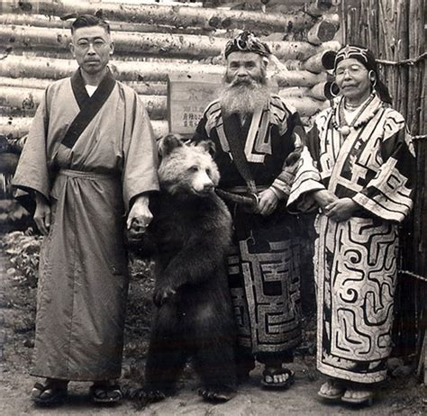Ainu Japan going going five of asia s most endangered