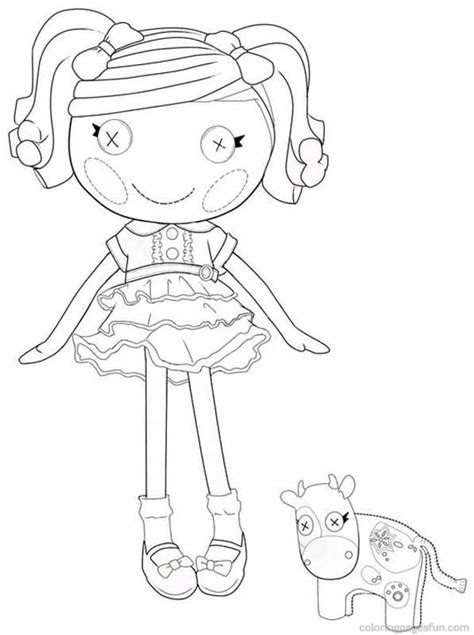 lalaloopsy mittens coloring page lalaloopsy doll colouring pages tattoo jobspapacom