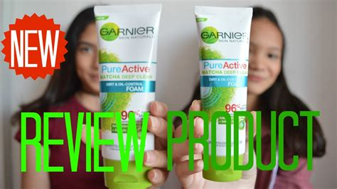 Garnier Matcha Detox Review by Garnier Active Matcha Review Bahasa Indonesia