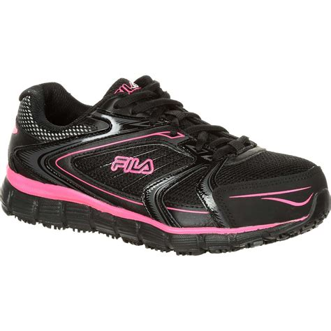 womens steel toe athletic shoes fila memory reckoning 7 s steel toe slip resistant