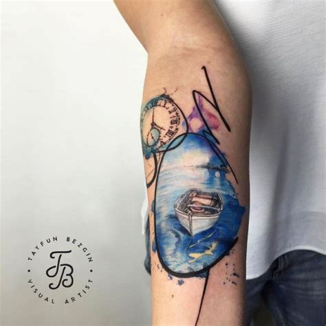 rowing tattoos designs watercolor tattoos will turn your into a living