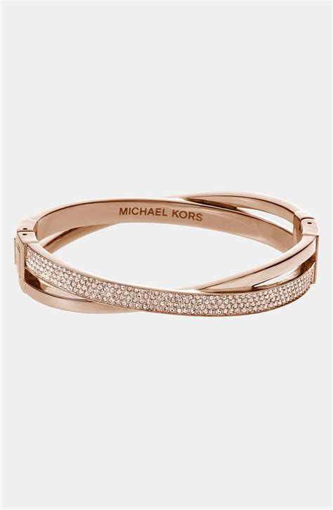 michael michael kors brilliance criss cross hinged
