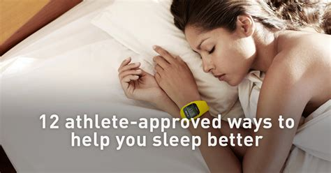 what helps sleep better 12 athlete approved ways to help you sleep better polar