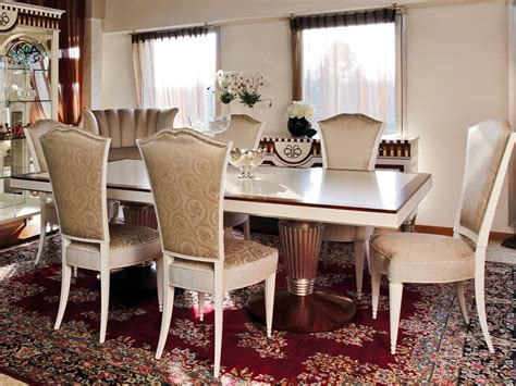 tavoli deco tavolo da pranzo stile classico contemporaneo idfdesign