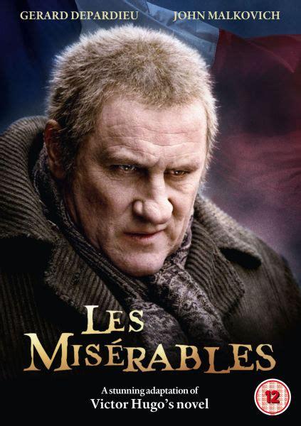 gerard depardieu jean valjean les miserables dvd zavvi