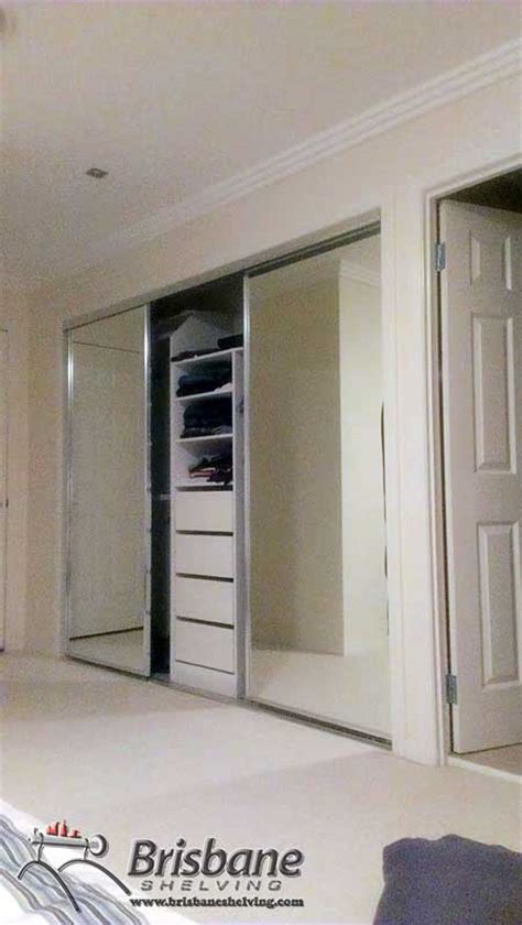 Wardrobe Fit Out Brisbane by Brisbane Sliding Custom Built Out Walk In Flat Pack
