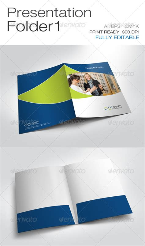 presentation folder templates presentation folder graphicriver