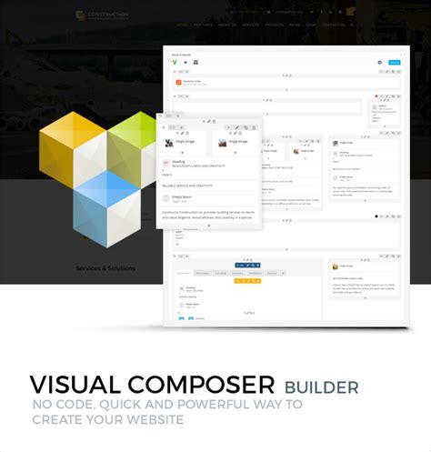 themeforest visual composer construction wordpress theme wordpress themeforest