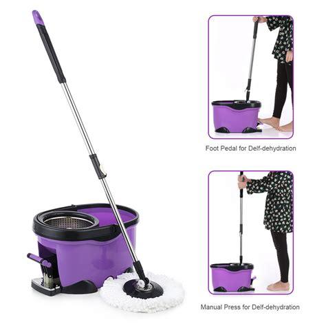 Cleaning Set Kokaii 6 In 1 Original Kokaii purple ikayaa stainless steel foot pedal 360 176 rotating spin mop set lovdock