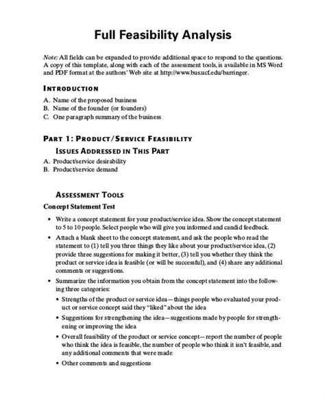 Organizational Assessment Report Template