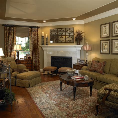 formal living room traditional living room by hearn interior design