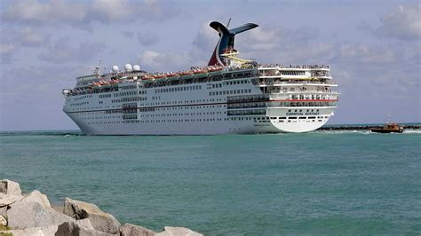 carnival ecstasy cruise ship upstate new york woman goes overboard on carnival ecstasy