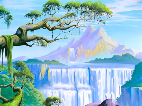 Wall Mural Kids jungle mural in girl s room sacredart murals